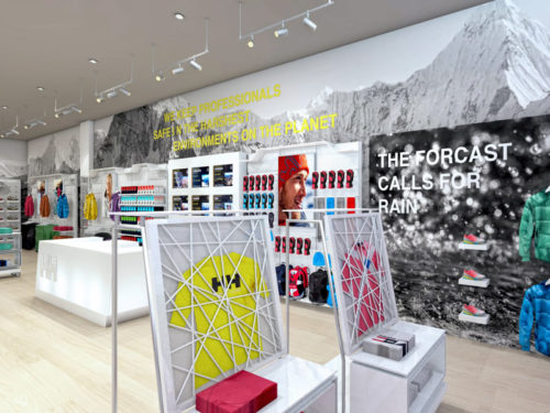 Helly Hansen; Mall of Africa; perimiter display solutions