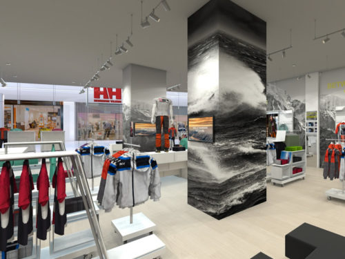New Helly Hansen Store in Mall of Africa; Shopfitted by Shopfitting Depot